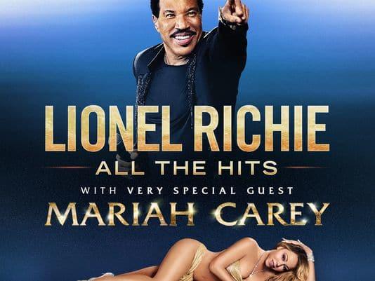 Lionel Richie & Mariah Carey at Quicken Loans Arena