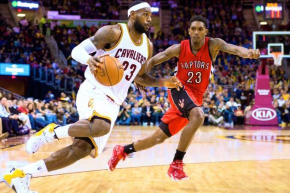 Cleveland Cavaliers vs. Toronto Raptors at Quicken Loans Arena