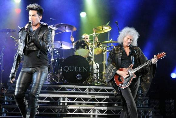 Queen & Adam Lambert at Quicken Loans Arena