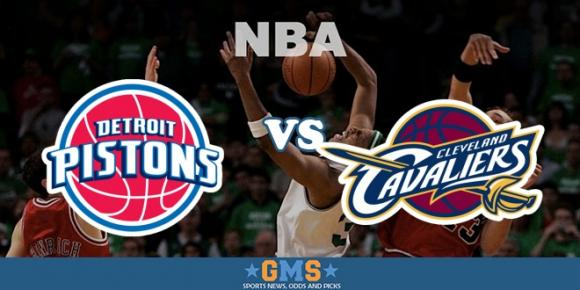 Cleveland Cavaliers vs. Detroit Pistons at Quicken Loans Arena