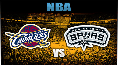 Cleveland Cavaliers vs. San Antonio Spurs at Quicken Loans Arena