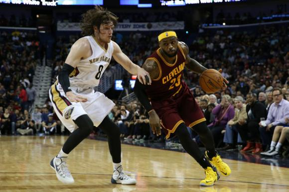 Cleveland Cavaliers vs. New Orleans Pelicans at Quicken Loans Arena