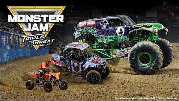 Monster Jam at Quicken Loans Arena