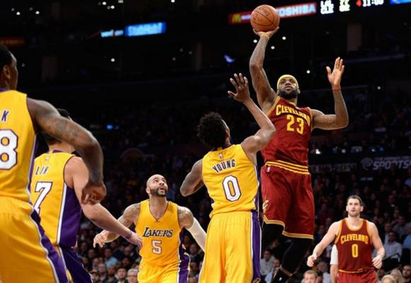 Cleveland Cavaliers vs. Los Angeles Lakers at Quicken Loans Arena