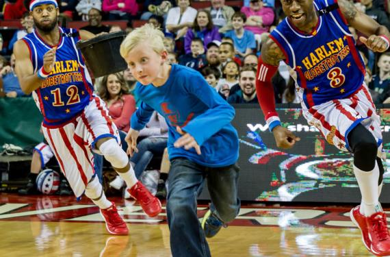 The Harlem Globetrotters at Quicken Loans Arena