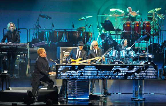 Elton John at Quicken Loans Arena