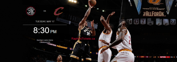 NBA Eastern Conference Finals: Cleveland Cavaliers vs. TBD - Home Game 1 (Date: TBD - If Necessary) at Quicken Loans Arena