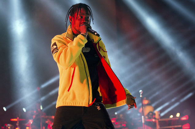 Travis Scott at Quicken Loans Arena