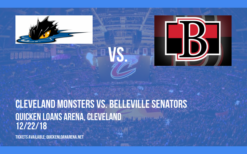 Cleveland Monsters vs. Belleville Senators at Quicken Loans Arena