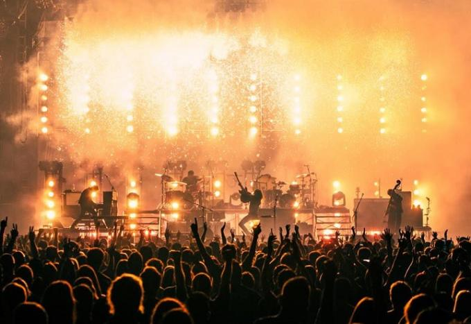 Mumford and Sons at Quicken Loans Arena