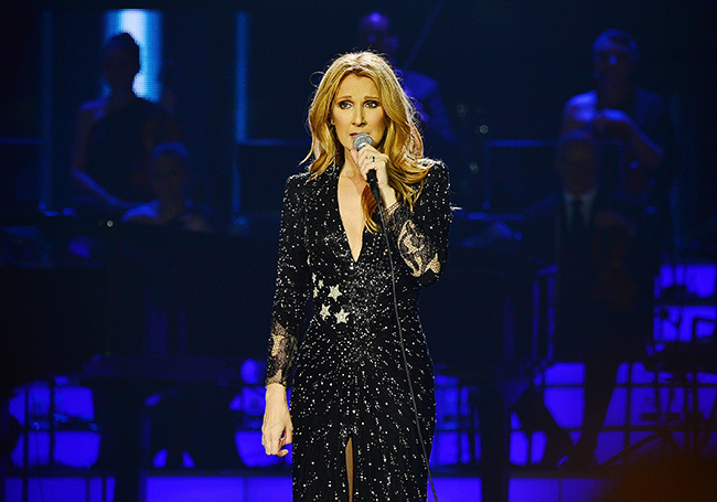 Celine Dion at Quicken Loans Arena