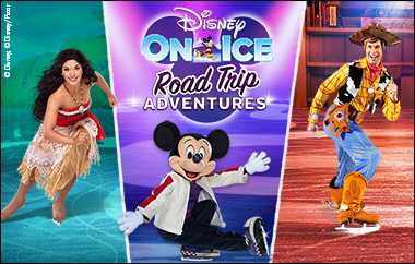 Disney On Ice: Road Trip Adventures at Quicken Loans Arena
