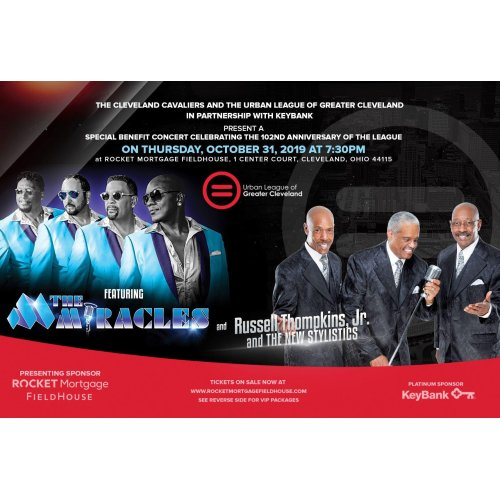 The Miracles, Russell Thompkins Jr. & The New Stylistics at Quicken Loans Arena