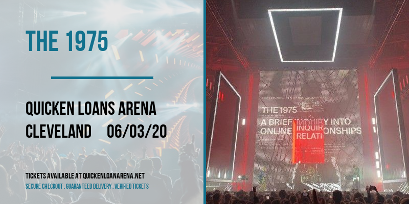 The 1975 [POSTPONED] at Rocket Mortgage FieldHouse