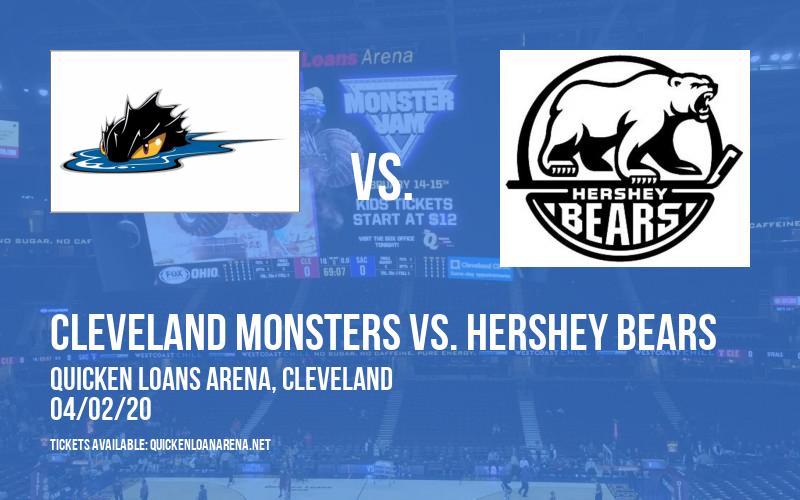 Cleveland Monsters vs. Hershey Bears [POSTPONED] at Rocket Mortgage FieldHouse