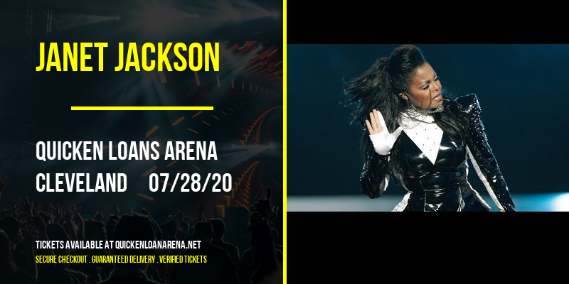 Janet Jackson [CANCELLED] at Rocket Mortgage FieldHouse