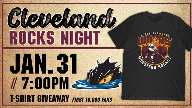 Cleveland Monsters vs. Hershey Bears [CANCELLED] at Rocket Mortgage FieldHouse