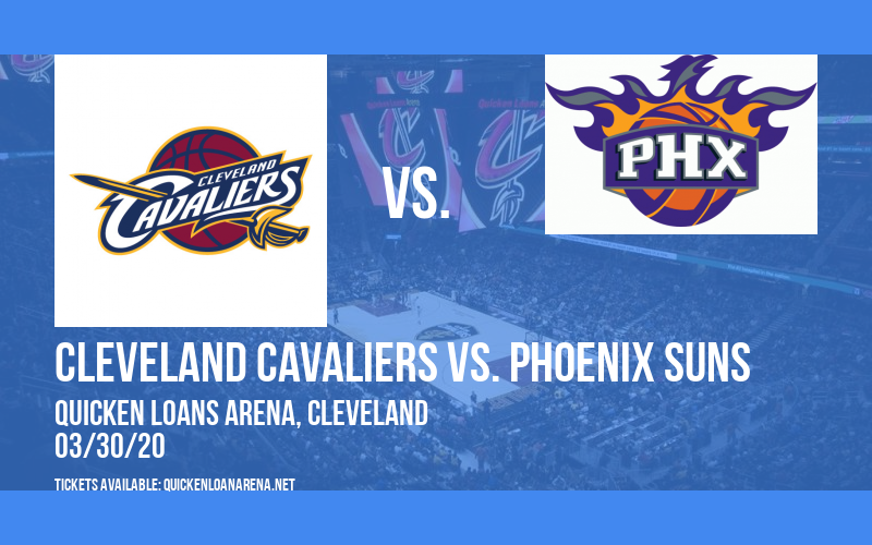 Cleveland Cavaliers vs. Phoenix Suns [CANCELLED] at Rocket Mortgage FieldHouse
