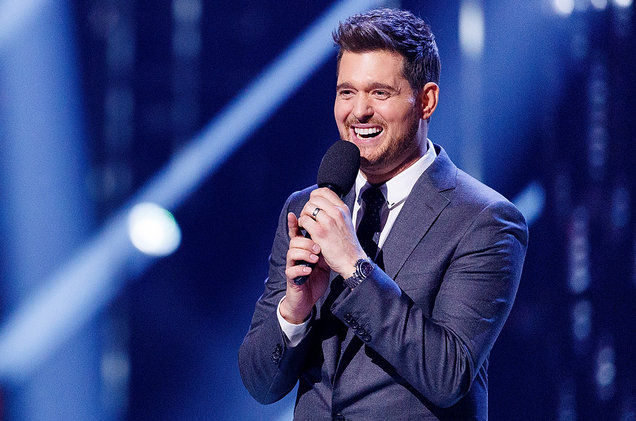 Michael Buble at Rocket Mortgage FieldHouse