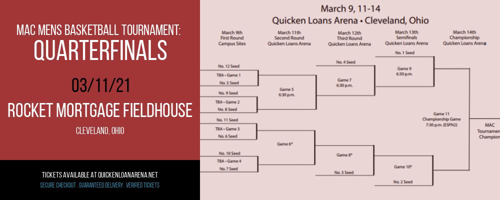 MAC Mens Basketball Tournament: Quarterfinals at Rocket Mortgage FieldHouse