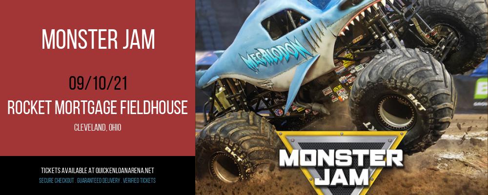Monster Jam at Rocket Mortgage FieldHouse
