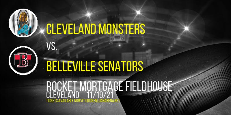 Cleveland Monsters vs. Belleville Senators at Rocket Mortgage FieldHouse