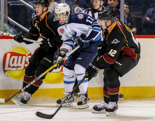 Cleveland Monsters vs. Manitoba Moose at Quicken Loans Arena
