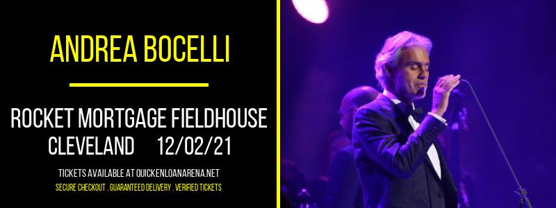Andrea Bocelli at Rocket Mortgage FieldHouse